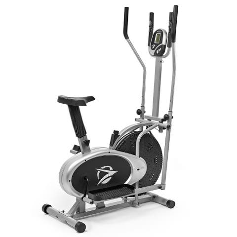 Elliptical Machine 2 in 1 Exercise Bike Fitness Home Gym- Plasma Fit