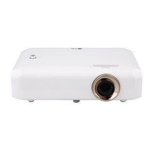 Portable LED Projector with Built-in Battery & Screen Share 1280 x