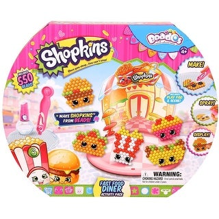 Beados Shopkins S3 Activity Pack Fast Food Diner