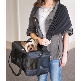 Black - Sherpa Travel Pet Carrier Comfort Strap
