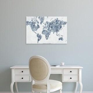 Easy Art Prints Piper Rhue's 'World on a String' Premium Canvas Art
