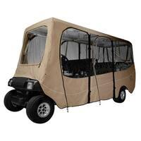 Fairway Golf Cart Deluxe Enclosure Extra Long Roof - Khaki - 40-051-345801-00