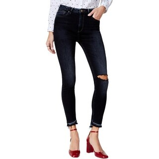 DL1961 Womens Juniors Ankle Jeans Distressed High Waist - 28