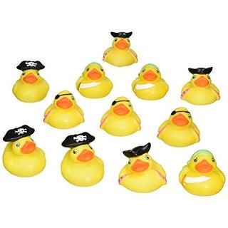 """Rhode Island Novelty 2"""" Pirate Rubber Ducks 12 Pcs Per Order Novelty"""