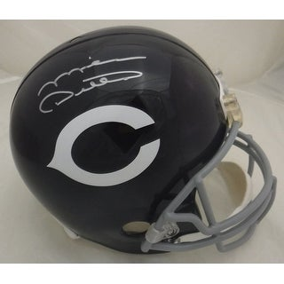 Mike Ditka Autographed Chicago Bears Full Size Replica Throwback Helmet JSA
