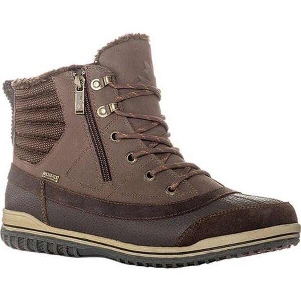 Shop Pajar Men S Pummel Duck Boot Dark Brown Free