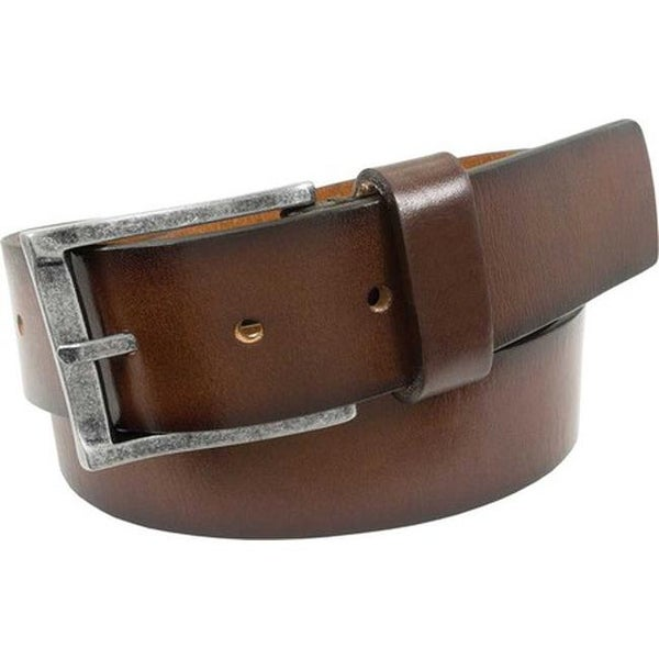 7b631c0a2426 Shop Florsheim Men s Albert Casual Leather Belt Brown Saddle Leather - On  Sale - Free Shipping On Orders Over  45 - Overstock - 20737614