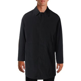 Calvin Klein Mens Water Resistant Removable Liner Trench Coat