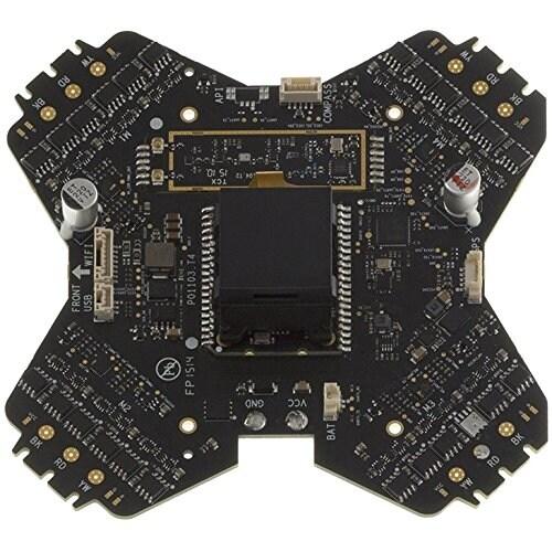 DJI CP.PT.000260 Part 76 Phantom 3 Esc Center Board and Receiver 5.8G
