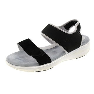 Soft Walk Womens Elements Sport Sandals Suede Casual