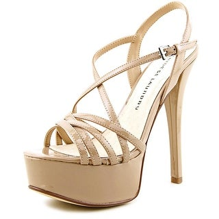 Chinese Laundry Teaser Women Open Toe Synthetic Nude Platform Sandal