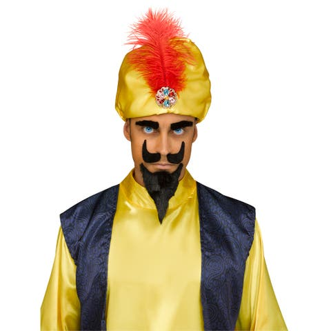 Adult Zoltar Speaks Fortune Teller Costume Kit - Standard - One Size