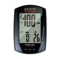 CatEye Strada Digital Wireless Bicycle Computer w/Speed/Cadence - CC-RD410DW - Black