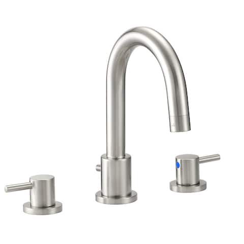 Design House 548289 Eastport 1.2 GPM Widespread Bathroom Faucet with - Satin Nickel