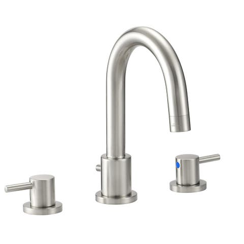 Design House 548289 Eastport 1.2 GPM Widespread Bathroom Faucet with Two Handles - Satin Nickel