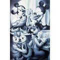 ''Mickey & Friends: Nightclub B&W;'' by Walt Disney Walt Disney Art Print (36 x 24 in.) - Thumbnail 0