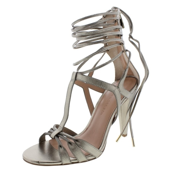 Sigerson Morrison Womens Melody Dress Sandals Lace-Up