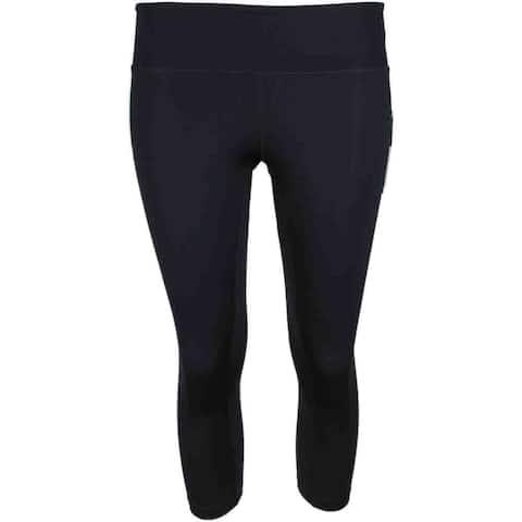 Asics Womens Printed Capri Running Athletic Pants & Shorts Leggings