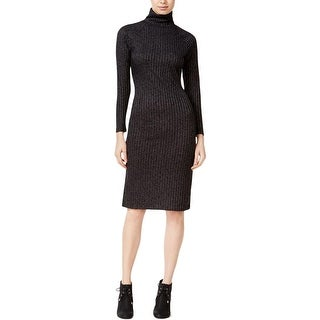 Kensie Womens Sweaterdress Turtleneck Knit