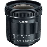 Canon EF-S - Wide Angle Zoom Lens Canon EF-S 10-18mm f/4.5-5.6 IS STM Lens