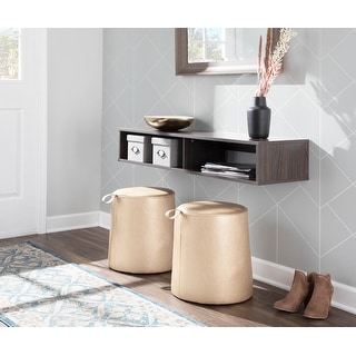 Link to Porch & Den Rollo Ottoman Similar Items in Kids' Ottomans & Gliders