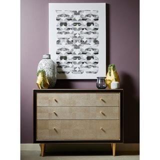 Link to Natural and Black 3-drawer Sideboard Chest Similar Items in Dressers & Chests