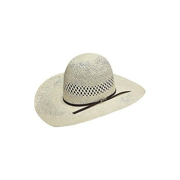 46f76aa5dada3 Shop Twister Cowboy Hat Mens Open Crown Straw 6 7 8