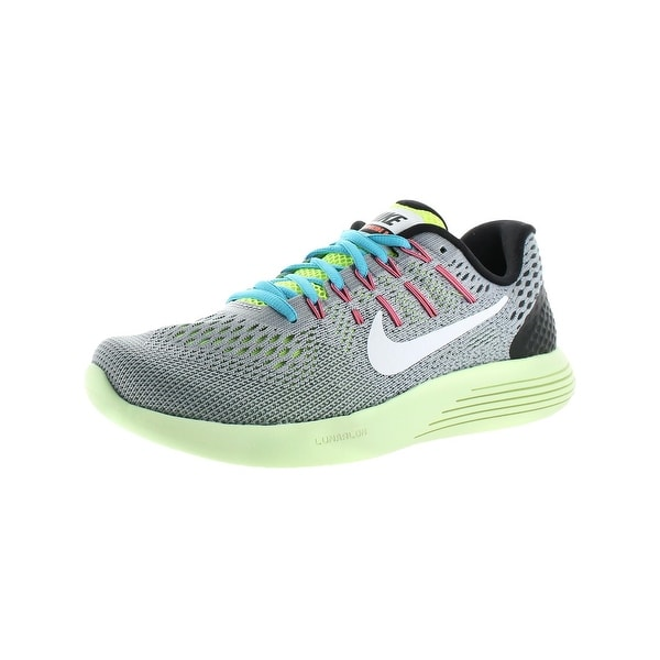 Nike Mens Lunarglide 8 Running Shoes Mesh Run Easy