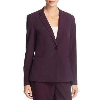 Link to T Tahari Womens Brenda One-Button Blazer Long Sleeves Business Similar Items in Suits & Suit Separates