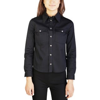 Miu Miu Women's Cotton Blouse Shirt Black (3 options available)