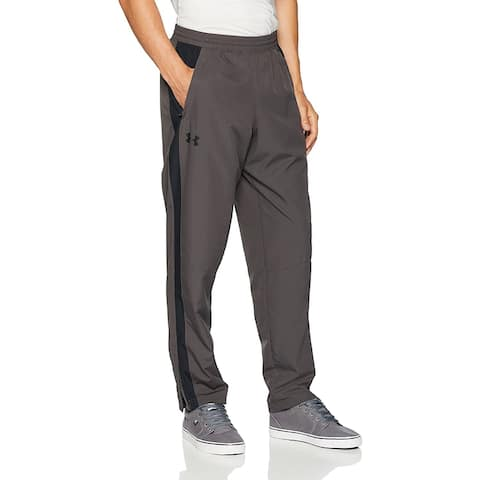 Under Armour Men's Sportstyle Training Tapered Pants, Charcoal, Medium - M