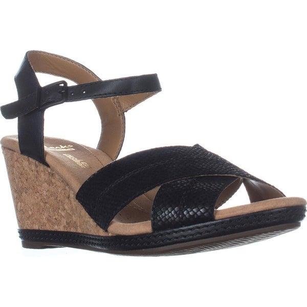 24a24018c7c Shop Clarks Helio Latitude Comfort Wedge Sandals