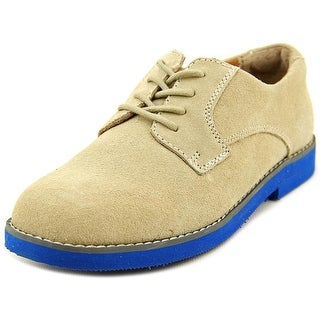 Florsheim Kearny Jr Youth Round Toe Suede Tan Loafer