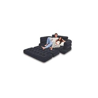 Intex 68566ep inflatable pull out sofa