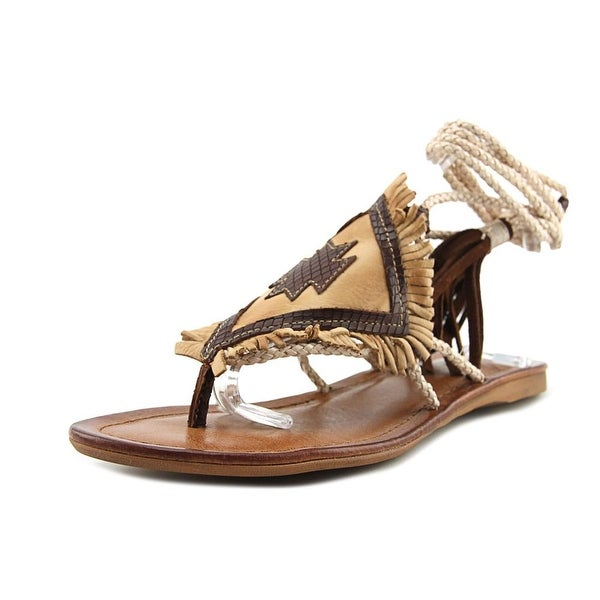 Matisse Bronte Women Open Toe Leather Brown Gladiator Sandal