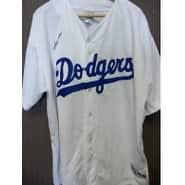Signed Beltre Adrian Los Angeles Dodgers Replica Majestic Los Angeles Dodgers Jersey size 2XL autog