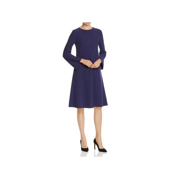 Shop Lafayette 148 New York Womens Kalitta Wear To Work Dress Flare