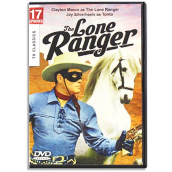 The Lone Ranger - TV Classics on DVD
