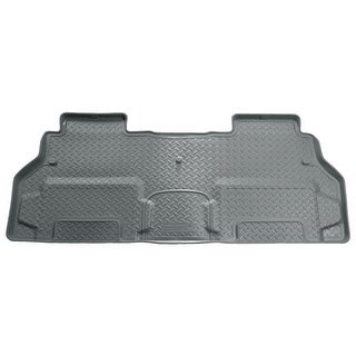 Husky Classic 2008-2016 Buick Enclave 2nd Row Bench Grey Rear Floor Mats/Liners