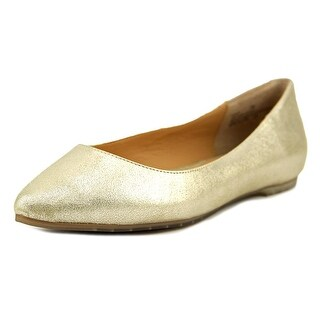 Me Too Aimee Women Round Toe Leather Ballet Flats