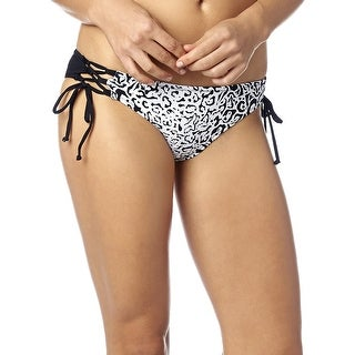 Fox Racing 2016 Women's Speed Lace Up Side Tie Bikini Bottom - 15184 - Black (3 options available)