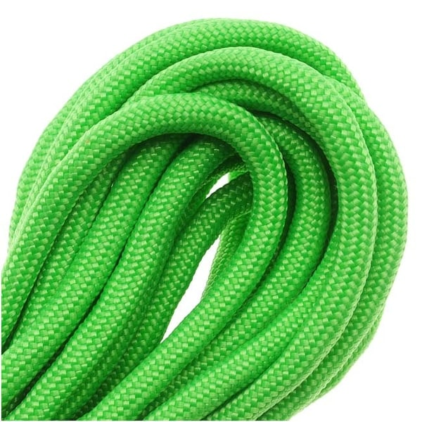 Paracord 550 / Nylon Parachute Cord 4mm - Neon Green (16 Feet/4.8 Meters)
