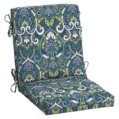 Arden Selections Aurora Damask Outdoor Dining Chair Cushion