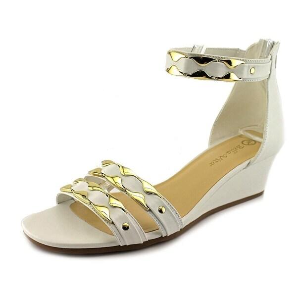 Bella Vita Imogen Women Open Toe Leather Wedge Sandal