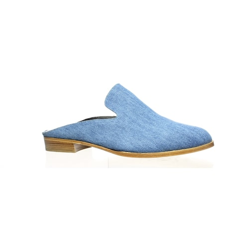 Robert Clergerie Womens Alicet Blue Mules Size 10