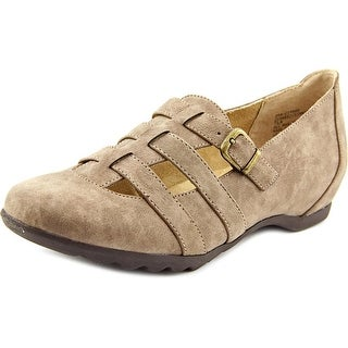 White Mountain Simmie Women Round Toe Synthetic Flats