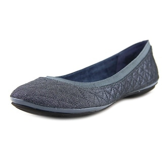 Bandolino Eryn Women  Round Toe Canvas Blue Flats