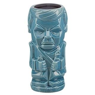 Star Trek: TOS Dr. McCoy 16oz Geeki Tiki Mug, Blue - Multi