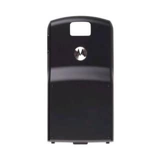 OEM Motorola SLVR L7c Standard Battery Door - Black