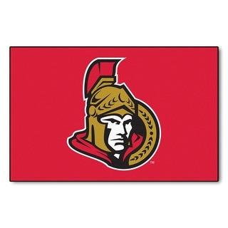 NHL Sports Team Logo Ottawa Starter Mat